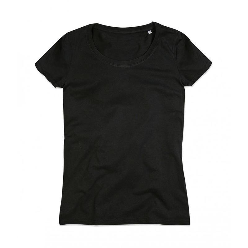 Tee-shirt femme ras de cou Janet - Manches courtes