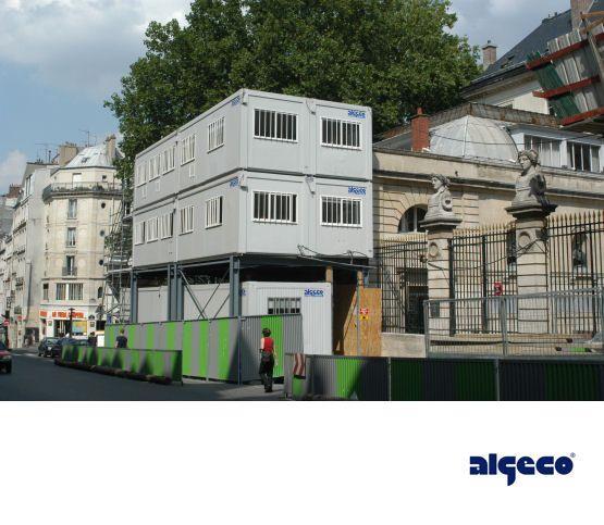 Construções modulares - Construção modular para estaleiros e restauração de edifícios históricos