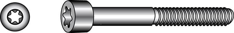 Thread rolling socket head cap screws type OE - Material A2