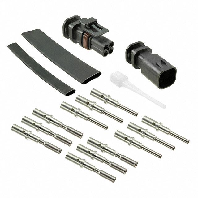 HIGH VIBRATION CONNECTOR KIT - Amphenol Industrial Operations AHVB-4KT-A