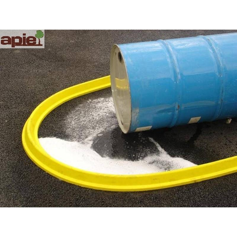 Barrage souple en polyuréthane Longueur 2 m - Référence : BARPU/200SP