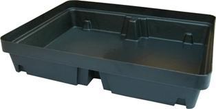 Bac de rétention polyéthylène - rétention 40 litres - BRP40LSC Bacs de rétention acier et plastique