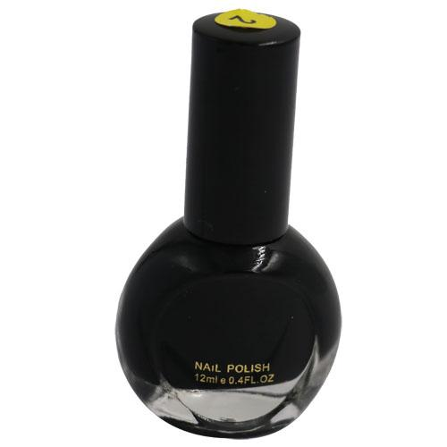 Cosmetics - Black Color Nail Polish