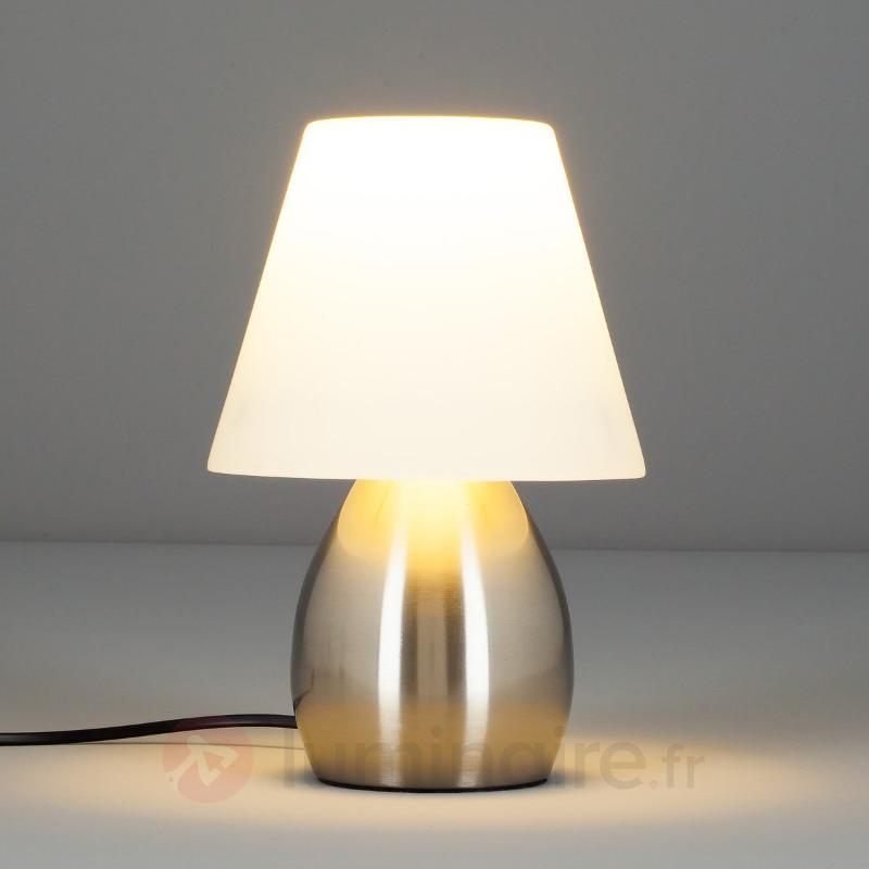 Lampe à poser décorative Emilan avec LED E14 - Lampes de chevet