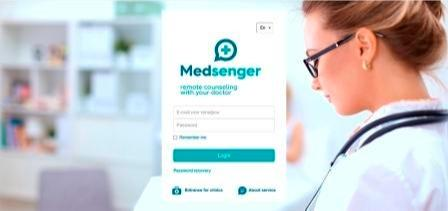 Medsenger - Specialized medical messenger - Convenient way of remote monitoring of the patient with his doctor