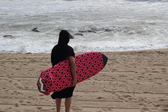 Poncho da surf -