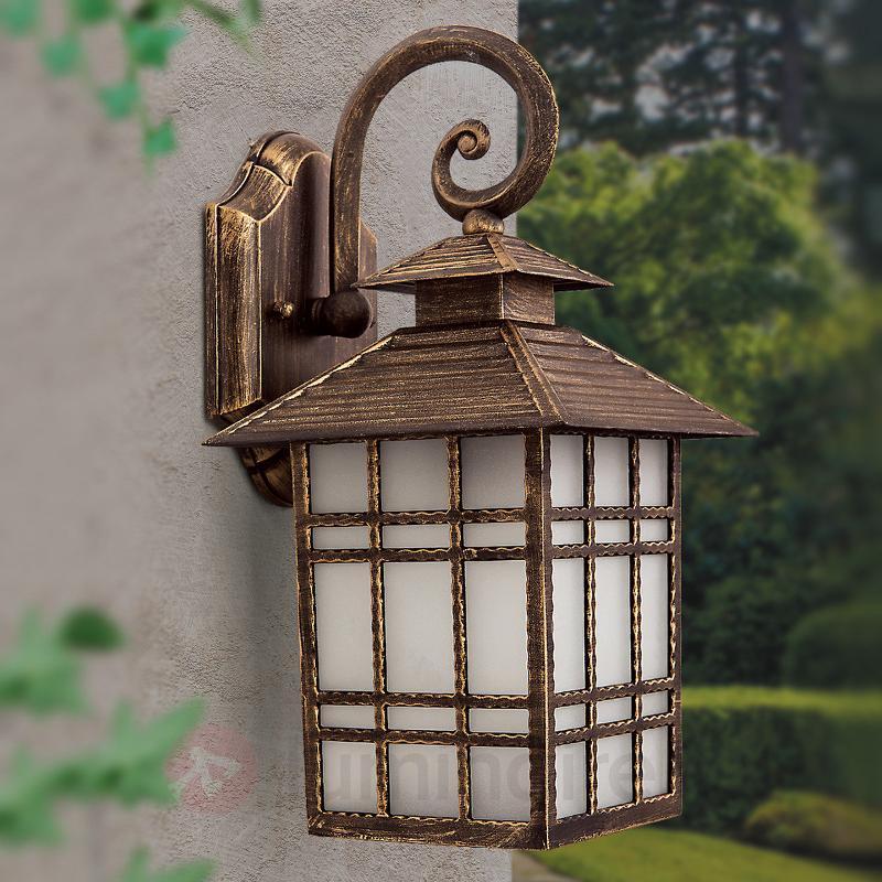 Applique d'extérieur traditionnelle ILKA, lanterne - Toutes les appliques d'extérieur