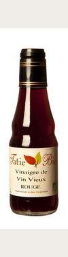 Vinaigre de vin vieux rouge BIO 6 % d'acidité  - Tatie Bio