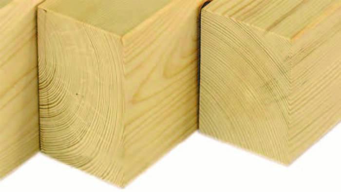 Fichten - Konstruktionsvollholz - KVH - NSi - 160 x 160 mm - null