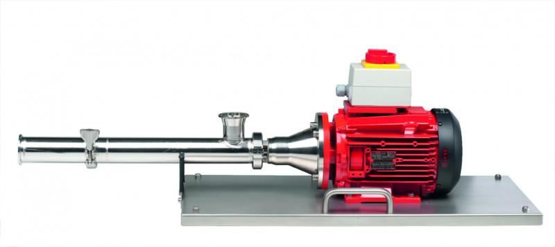 FLUX Eccentric worm-drive pump F 560 TR - For the horizontal use in the hygienic area