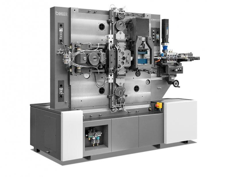 Bushing machine - GRM 80B - Standardized machine GRM 80B for manufacture of straight and flanged bushes