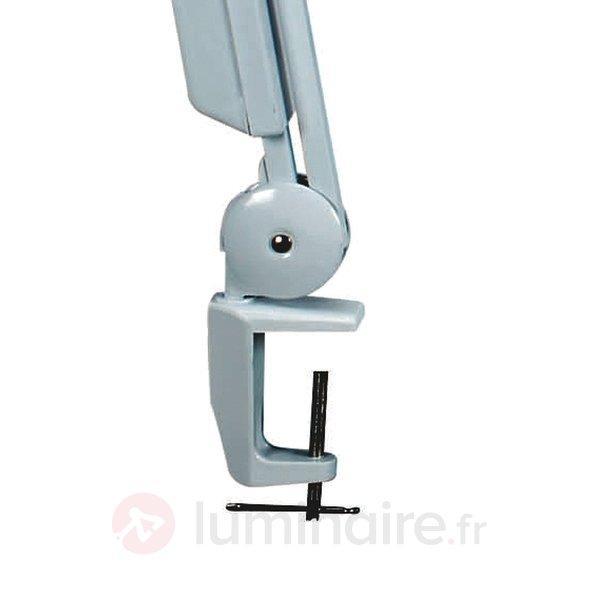 Lampe avec loupe pratique VITRUM, blanc - Lampes de bureau