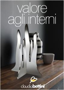 Claudio Bettini. Design casa oggetti.