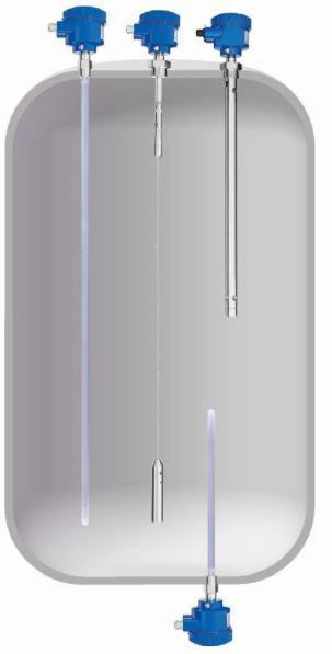 NivoCapa® NC 8000 - Kapazitive Sensoren - zur kontinuierlichen Füllstandsmessung in Flüssigkeiten