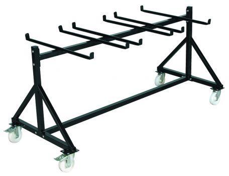 Chariot 48 chaises pliantes - Mobilier Intérieur