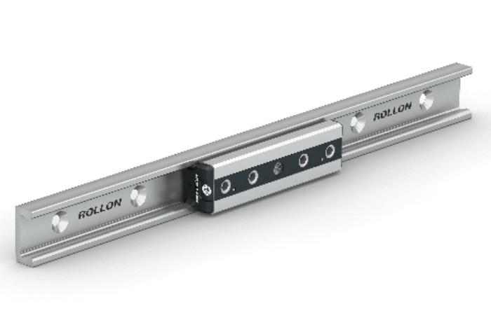 Compact Rail Plus - Available with double row ball bearings for high load capacities