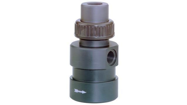 analyse liquides produits - chambre passage capteurs oxygene COA250