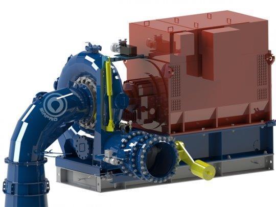 Siapro Francis Hydro Turbines