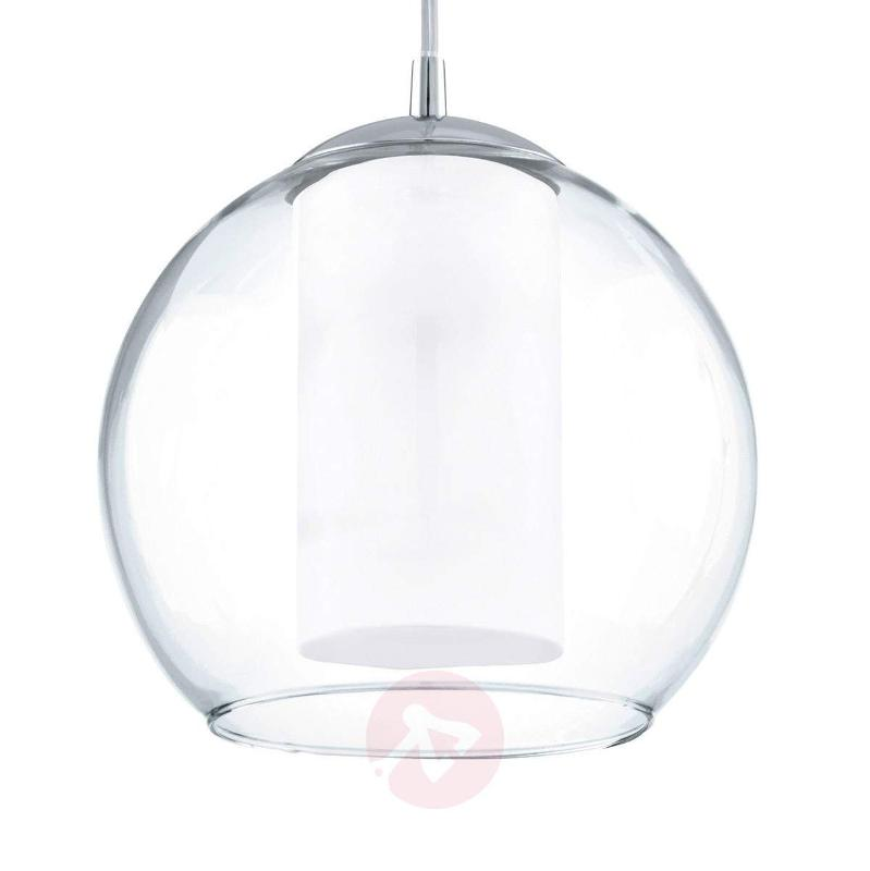 Classic Bolsano glass pendant light - Pendant Lighting