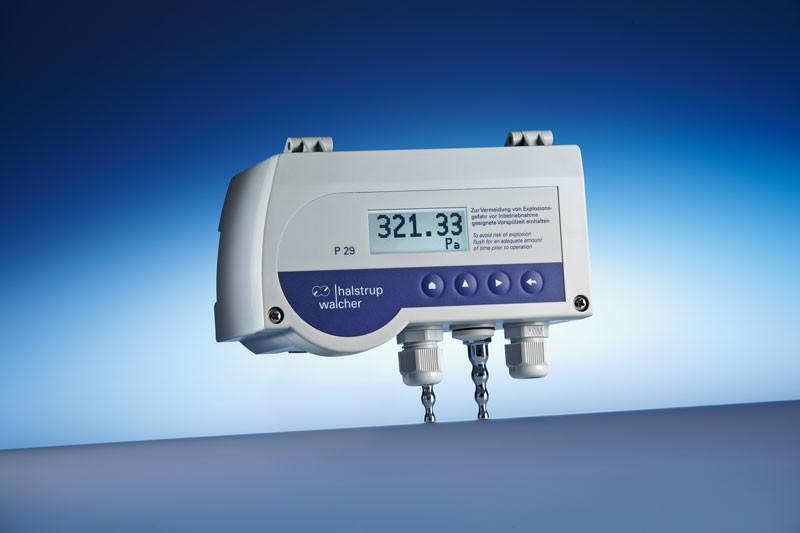 Differential pressure transmitter P 29 - Safe measurement of differential pressure of natural gas