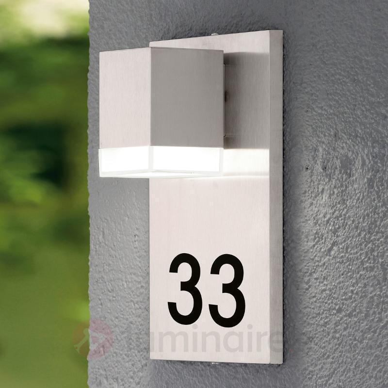 Lampe pour numéro de maison LED Pardela 1 - Numéros de maison lumineux