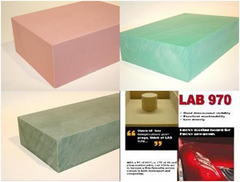 produits pour le modelage Planches usinables - LAB 973 50MM