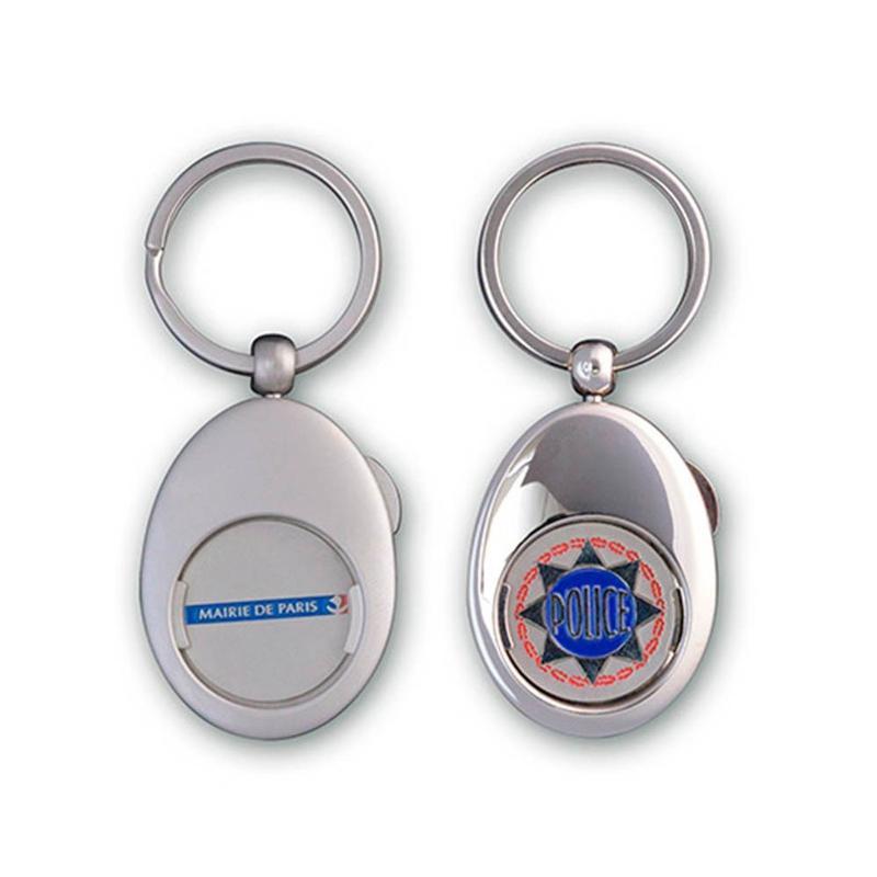 Porte-clés jeton - Porte-clés métal