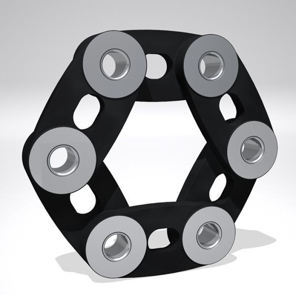 SGFlex® Laschenringkupplung  - SGFlex-200.01
