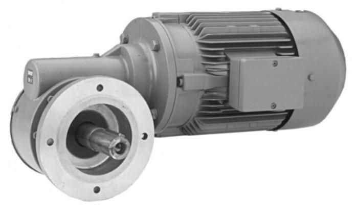 SN10F - Einstufiger Getriebemotor mit Ausgangswelle
