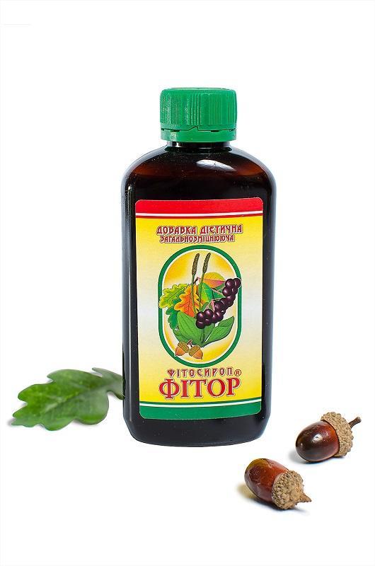 Фитор-сироп - Фитосироп с добавлением Фитора