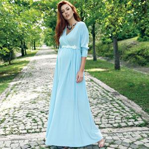 Ebru Maternity Dress - MAternity Wholesale