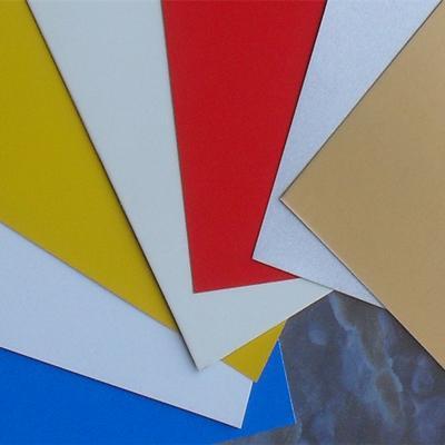 Color aluminium composite panel - null