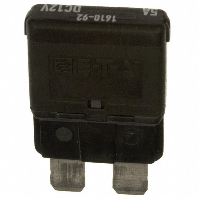 CIRCUIT BREAKER THRM 5A 12VDC - E-T-A 1610-92-5A