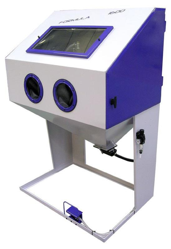 Microbilleuse - Cabine de sablage Formula 1600