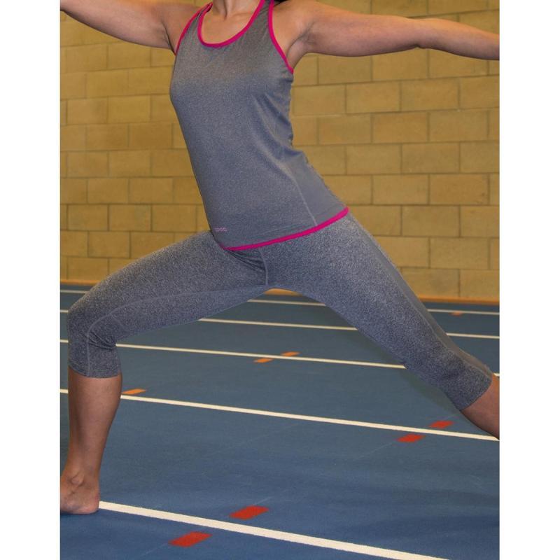 Pantalon femme Fitness Capri - Pantalons et shorts