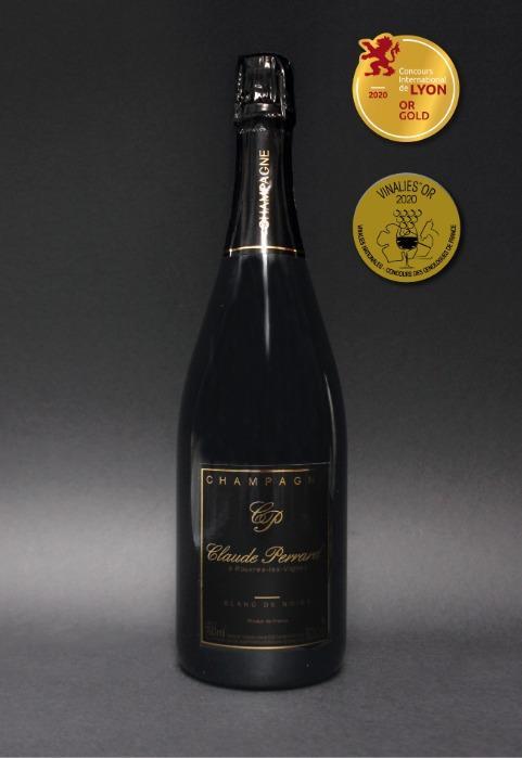 Champagne Claude PERRARD Brut Blanc de Noirs -