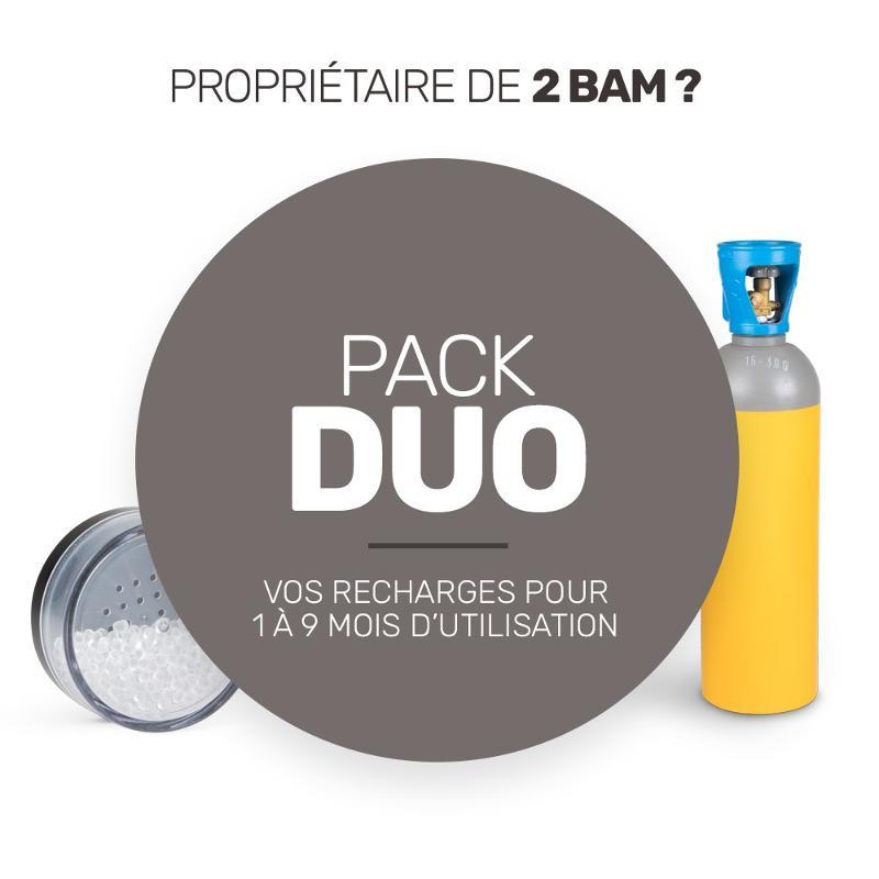 Pack de recharge de consommables pour vos deux BAM