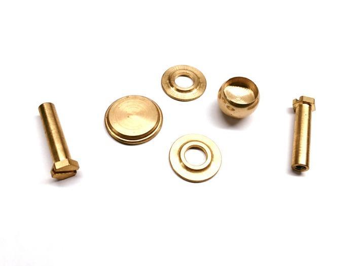 particolari torniti in ottone - Parti tornite in ottone personalizzate in fabbrica di parti di macchine in Cina