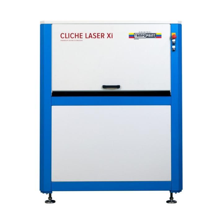 CLICHE LASER Xi Lasersystem - Flachbett-Klischeelaser für INTAGLIO-Laserklischees.