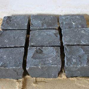 Paralelo quartzito preto absoluto - Dimensões sob pedido