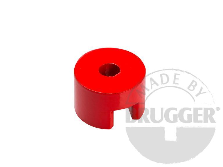 Horseshoe magnet made of AlNiCo - cylindrical form
