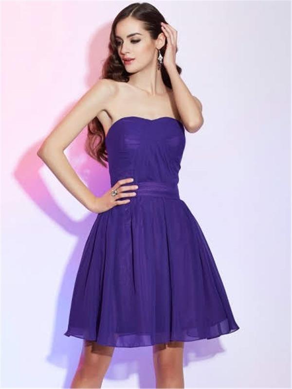 Short Evening Dresses - Short Dress