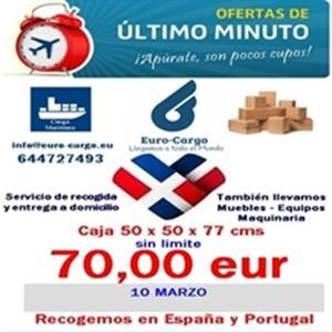 Transporte de Carga hacia República Dominicana