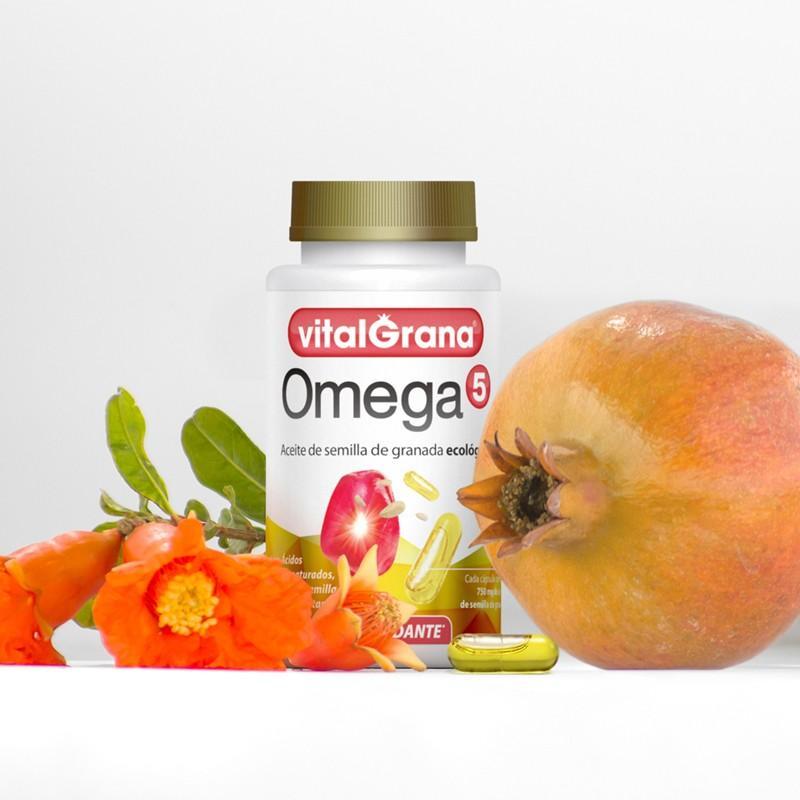 Капсулы ОМЕГА 5 - Капсулы из масла экологических гранатовых семян