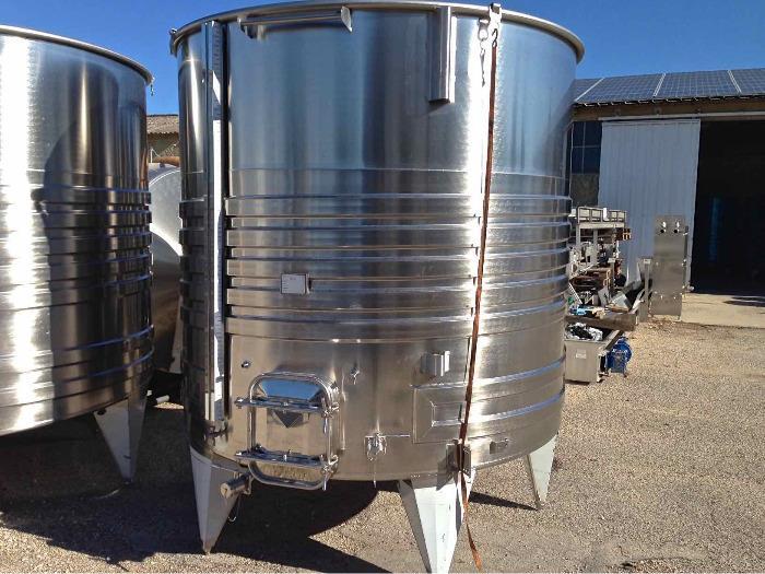 Depósito de acero inoxidable 304 - 100 HL - SPAIPSER10000B