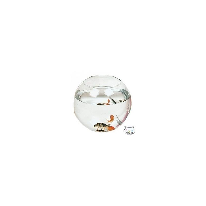 Aquarium poissons forme boule 18 cm 3 litres vases for Poisson aquarium boule