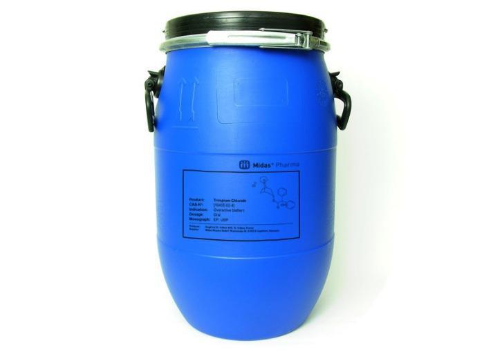 Cloruro de trospio - Cloruro de trospio, sustancia activa; EP, USP