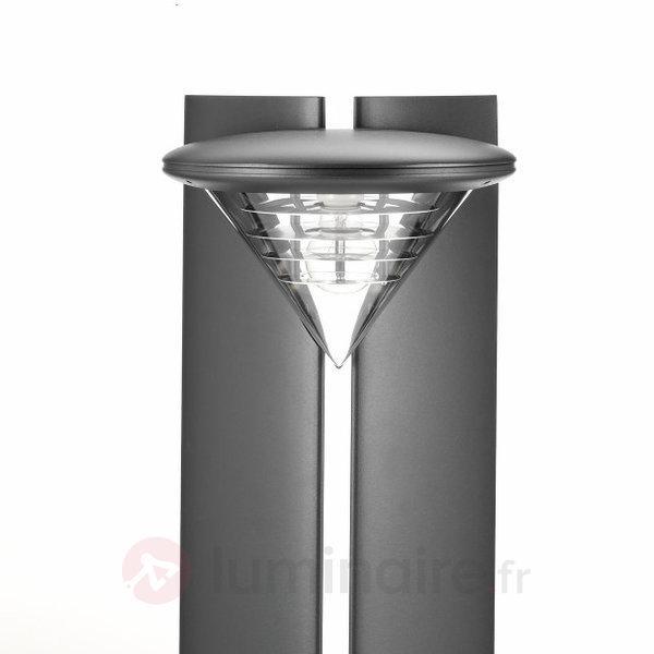 Borne lumineuse Ibis 100 cm, graphite - Toutes les bornes lumineuses