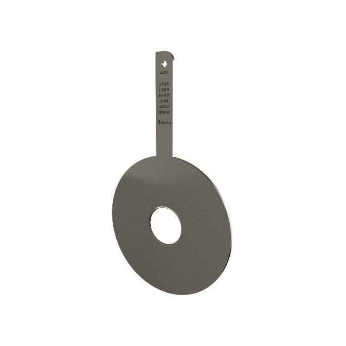 Plaque à orifice quart de cercle - Fabricant de plaques à orifice pour mesure de débit par pression différentielle