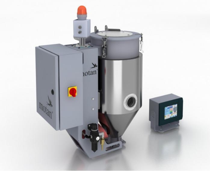 Secador de aire seco  - LUXOR CA A (8-60l) - Estación de secado, generador de aire seco, tolva de secado para gránulos